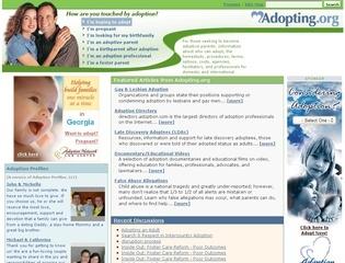 adopting org