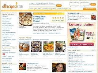 www.Allrecipes.com