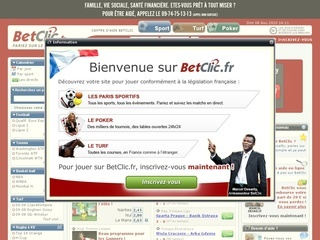 Visit www.BETCLIC.fr
