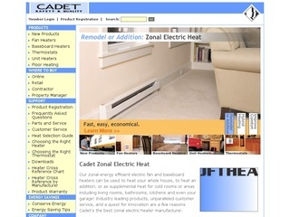 Cadet Manufacturing Co. Recall Of In-Wall Electric Heaters
