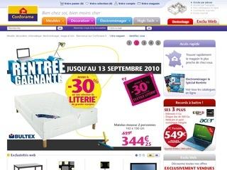 Visit www.CONFORAMA.fr