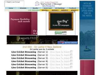 watch live cricket streaming of pakistan vs england and india vs sri ...