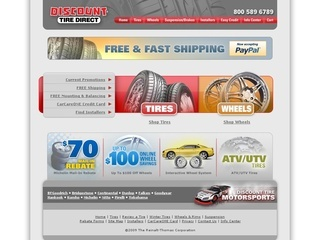 Discount tire list Drag Dr wheels in 20x10 et23 as having