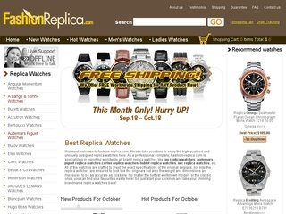 replica fashion watches in Italy