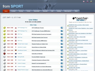 FROMSPORT.com Categories: Watch live (114) Live video (194) Sports ...