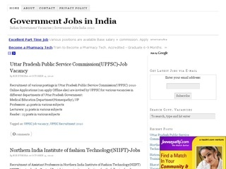Latest Government Jobs In India Tattoo Design Bild