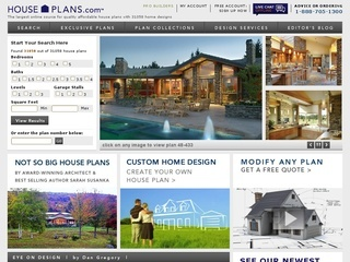 House Plans, Home Plans, Floor Plans and Home Designs from the