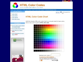 Html background color code for Web page background color codes