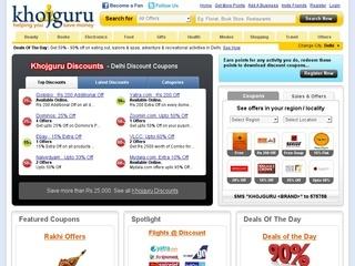 Khojguru coupons delhi