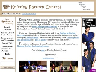 www.Knittingpatterncentral.com