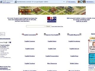 learn english web:
