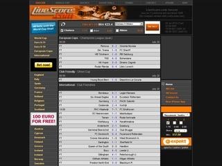 bet live score