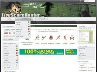 hunter livescore