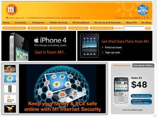 Visit www.m1.com.sg
