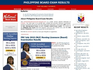 preparedness for the philippine board exam Philippine civil service commission government organization let results manila, philippines - the professional regulation commission (prc) board of medical technology released the march 2018 medtech room assignme march 2018 physician board exam results are expected to be released.