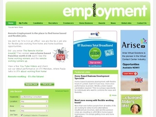 remote employment opportunities canada