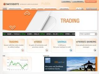 A schweizer online brokerage