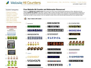 website hit counters free