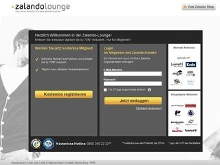 www.ZALANDO-lounge.de